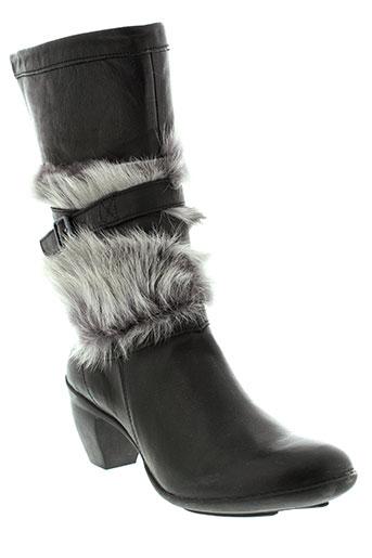 pataugas bottes femme de couleur noir