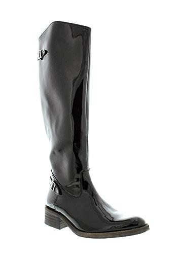 reqins bottes femme de couleur noir