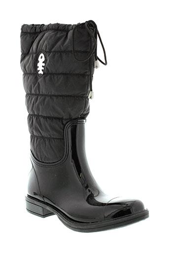 diplodocus bottes femme de couleur noir