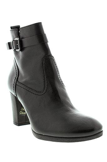 mally boots femme de couleur noir