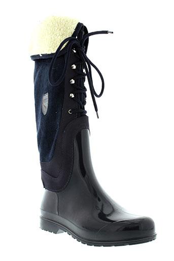 pajar bottes femme de couleur bleu