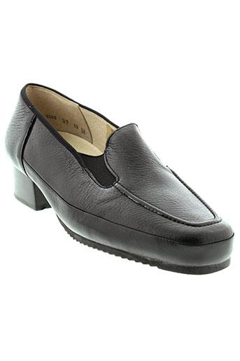hoki chaussures femme de couleur noir
