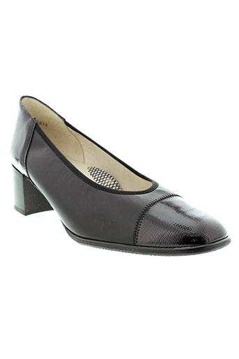 bertin escarpins femme de couleur noir