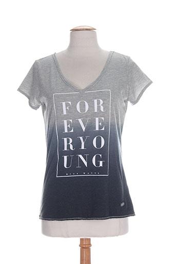watts chemises femme de couleur gris
