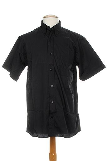 belloni chemises homme de couleur noir
