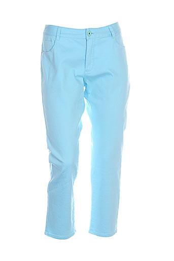 concept k pantacourts femme de couleur bleu