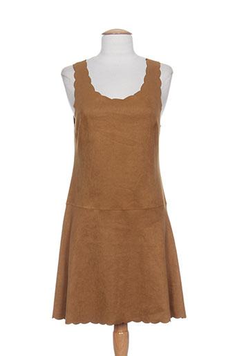 au soleil de st tropez robes femme de couleur marron