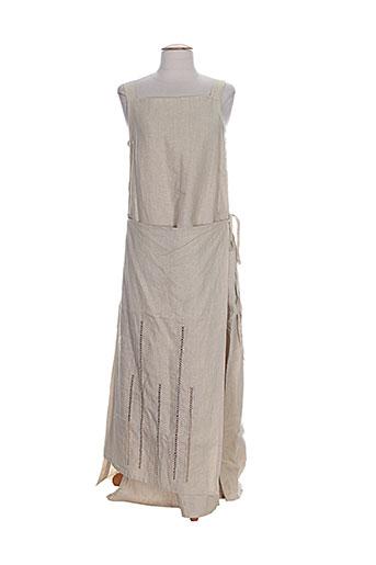 cannisse robes femme de couleur beige