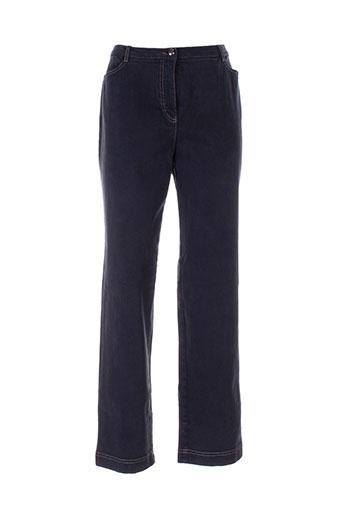 gina b heidemann pantalons femme de couleur gris
