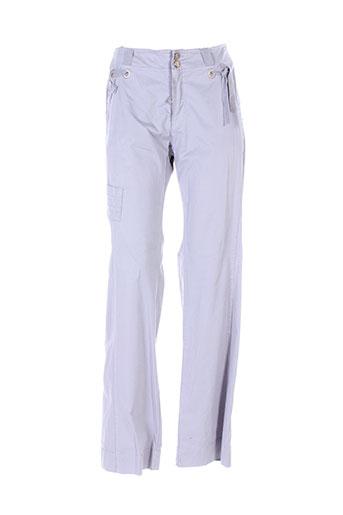 mcp pantalons femme de couleur gris