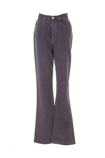 rosa rosam jeans femme de couleur gris