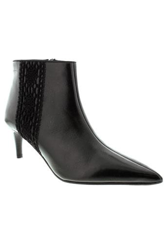 elizabeth et stuart boots femme de couleur noir