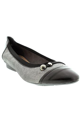 hirica chaussures femme de couleur gris