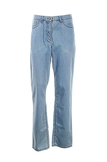 sbelt jeans jeans femme de couleur bleu