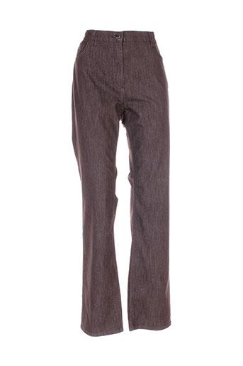betty barclay jeans femme de couleur marron