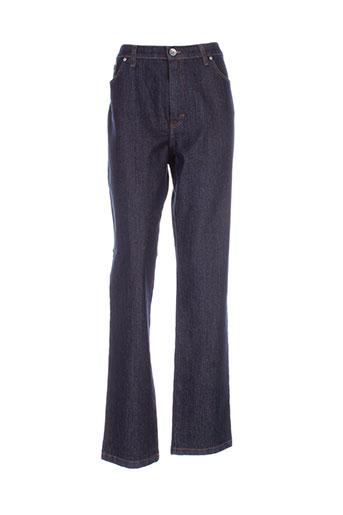 lcdn jeans femme de couleur bleu