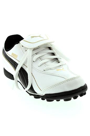puma baskets garcon de couleur blanc