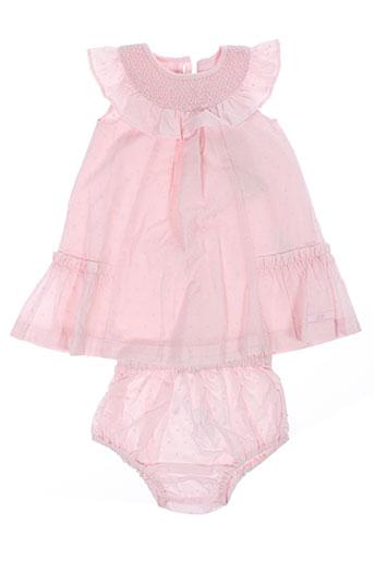 lili et gaufrette robes et mi et longues fille de couleur rose