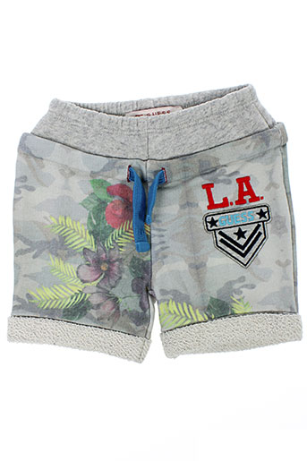 guess shorts / bermudas garçon de couleur gris