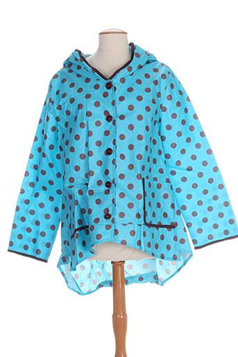 k-a-n-o-u manteaux femme de couleur bleu