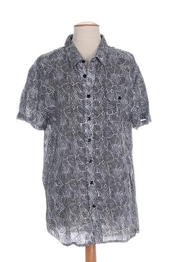 turbowear chemises femme de couleur gris