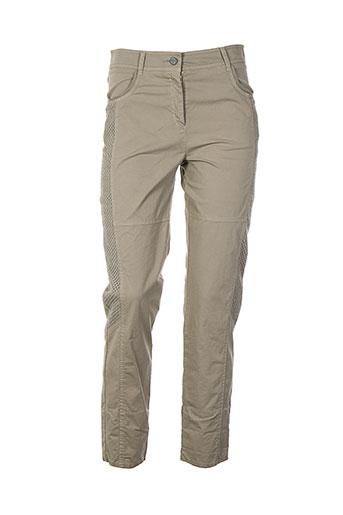 mc et planet pantalons et decontractes femme de couleur beige