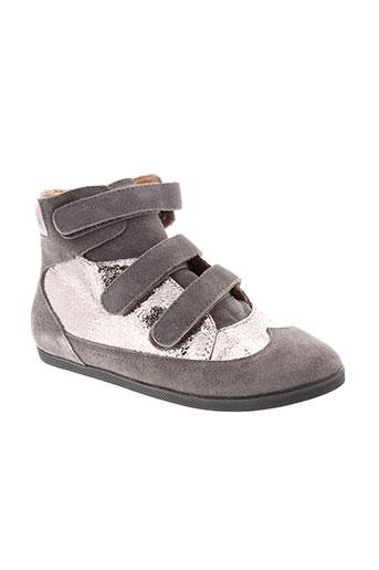 mellow yellow chaussures fille de couleur gris