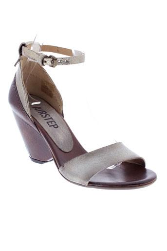 airstep sandales et nu et pieds femme de couleur marron
