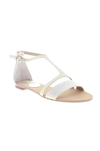guess sandales et nu et pieds femme de couleur beige