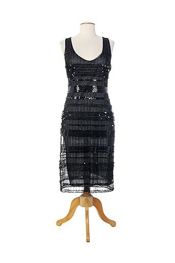 dona carlota robes femme de couleur noir