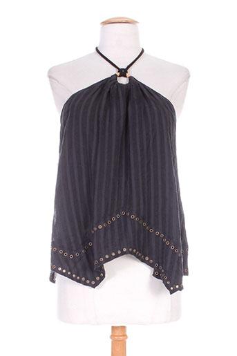laurence bras chemises femme de couleur noir