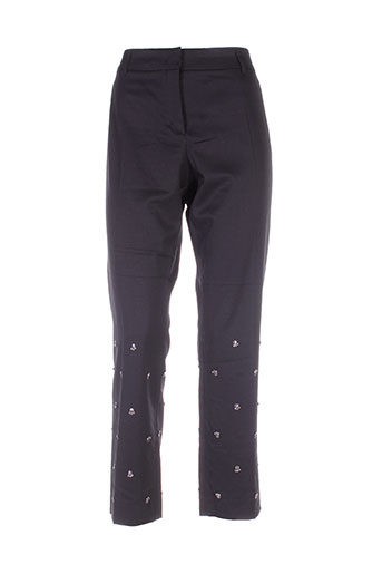 dorothee schumacher pantalons femme de couleur noir