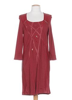 Robe mi-longue rouge MADO ET LES AUTRES pour femme