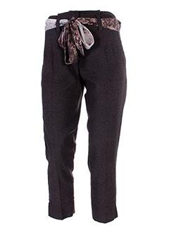 Pantalon chic marron MADO ET LES AUTRES pour femme