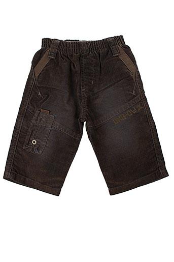 oxbow pantalons garçon de couleur marron