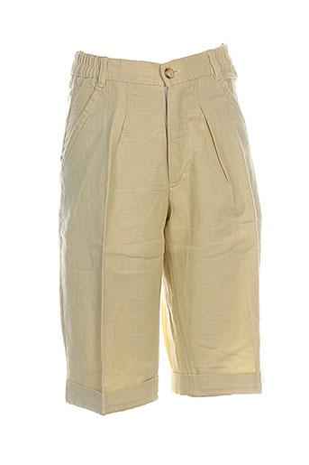 floriane shorts / bermudas garçon de couleur jaune
