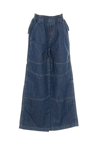 jean bourget jeans garçon de couleur bleu