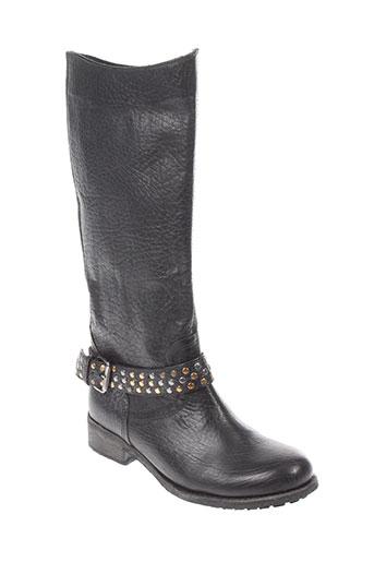 minka et design bottes femme de couleur noir