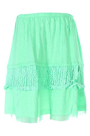 maloka jupes femme de couleur vert
