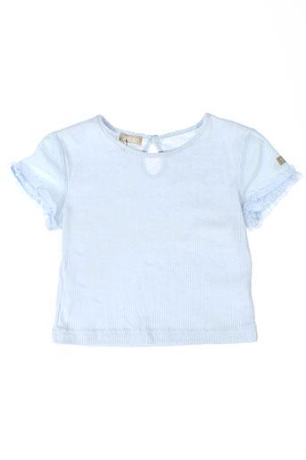 contre vents et marees t-shirts / tops fille de couleur bleu
