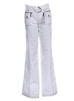 Pantalon casual blanc DDP pour fille