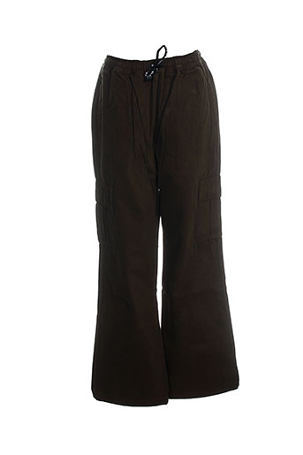 chipie pantalons garçon de couleur vert