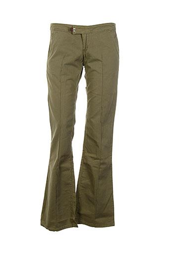 cimarron pantalons et decontractes femme de couleur vert