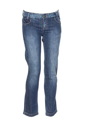 chipie jeans fille de couleur bleu