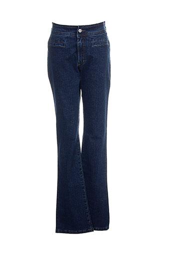 cimarron jeans femme de couleur bleu