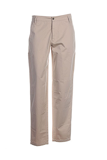 biscote pantalons femme de couleur beige