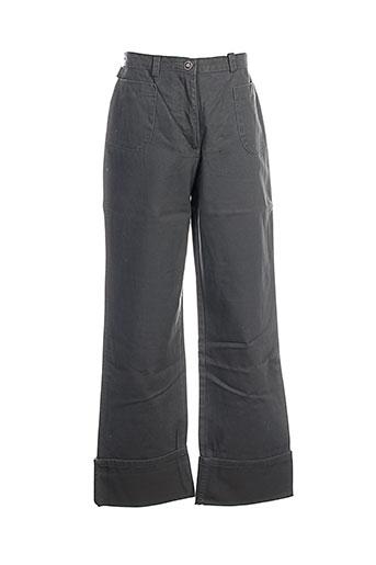 ddp pantalons fille de couleur gris