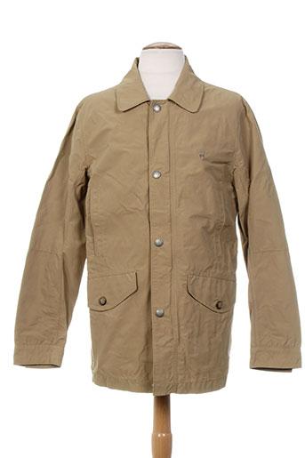 gant vestes homme de couleur marron