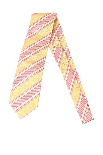 carnaval de venise accessoires homme de couleur jaune