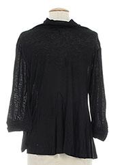 T-shirt manches longues noir 0039 ITALY pour femme seconde vue